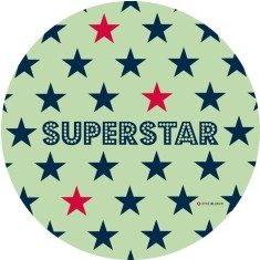 Superstar plate