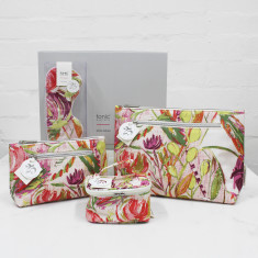 Cosmetic Bags, storage cube & eye mask Travel Gift Pack