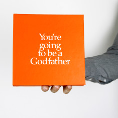 You're going to be a godfather book and gift