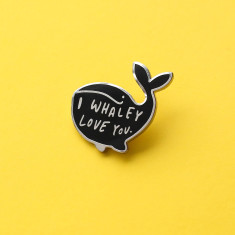 Whaley Love You Enamel Pin