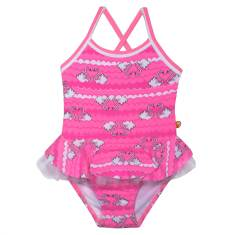 Swan Cross Back Baby Swimsuit
