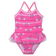 Swan Cross Back Baby Swimsuit