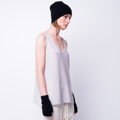 Cashmere blend beanie + gloves set