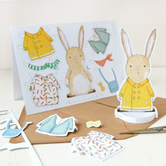 Dress Up A Rabbit Card