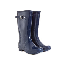 Wellington boots in navy