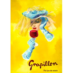 Grapillon vintage wall tile