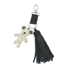 Monster Teddy Tassel Keyfob
