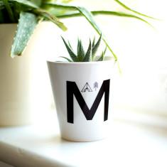 Adventure Alphabet Personalised Ceramic Plant Pot