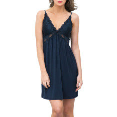 Modal Butterfly Nightdress In Ink