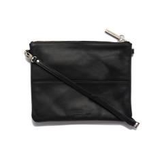 Jules clutch shoulder bag in black