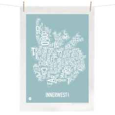 Inner West tea towel