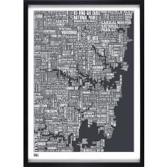 Bold & Noble Sydney type map