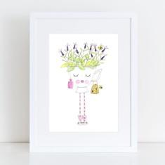 Miss Lavender - Limited Edition Fine Art Print