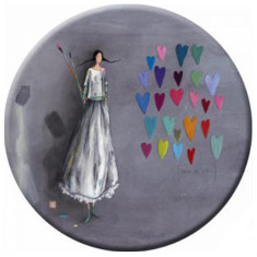 Artist pocket mirror