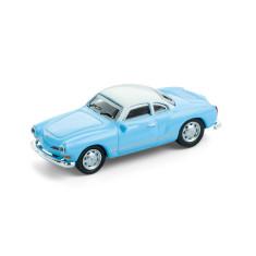 Fridge Magnet VW Karmann Ghia in light blue