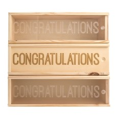 Congrats #2 Wine Box
