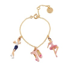 Ballet Dancers and Ballet Shoes Chain Bracelet