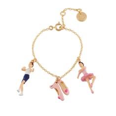 Ballet Dancers and Ballet Shoes Chain Bracelet
