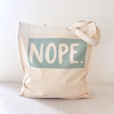 Nope. tote bag