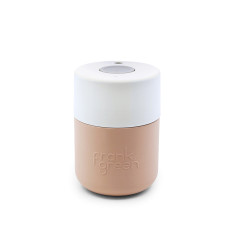 Frank Green Smart Cup 8oz - Nude Rose / Coconut Milk / Harbour Mist Coffee Cup