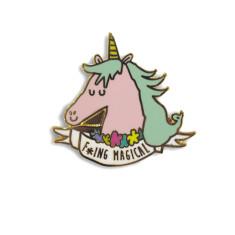 F*ing Magical Unicorn enamel pin