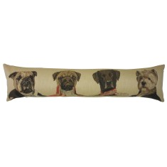 Thierry Poncelet dog lumbar cushion