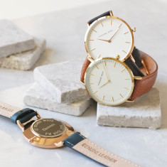 Personalised Women's Large Dial Watch