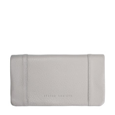 Some Type of Love leather wallet in cement