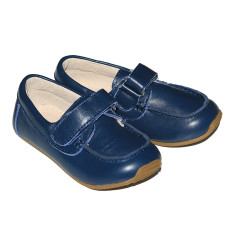 Kids' deck shoes in navy