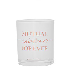 Mutual Weirdness Forever Candle - Rose Gold