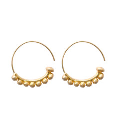 Tribal Hoop Earrings