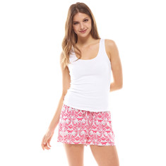 Hope Short & Tank Set Pink & White