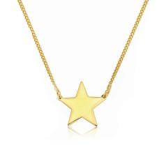 Amalfi 18ct Gold Vermeil Star Necklace