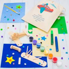 Personalised Make Your Own Mini Wooden Aeroplane Kit