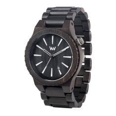 WeWood Assunt Black Wood Watch