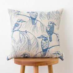 Kookaburra & Grass cushion cover