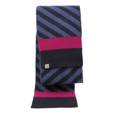 Whirl - lamb's wool scarf