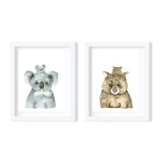 Koala and Wombat - Limited Edition Fine Art Prints