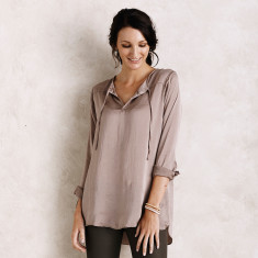 Florencia top in Almond