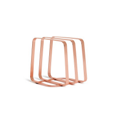 Umbra pulse napkin holder in copper