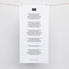 The Typewriter Word Art Print