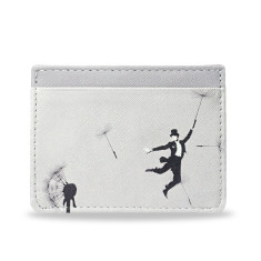 Au Revoir Dandelion Vegan Leather Credit Card Holder
