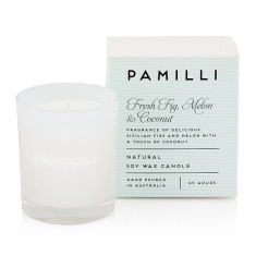 Natural Soy Candle (Italia Range) - Fig Melon & Coconut