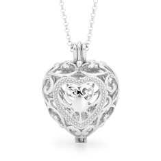 Passion Silver Perfumed Necklace