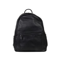 Roxy Black Leather Backpack