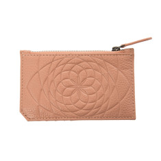 Krystal Card Purse - Dusty Pink