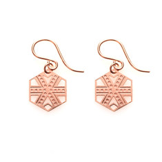 Rose Gold Zara Earrings