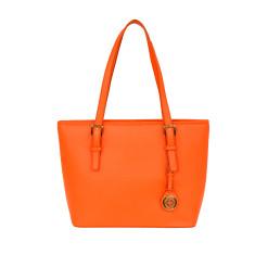 Tabitha tote handbag in orange