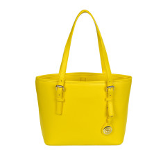 Tabitha tote handbag in yellow