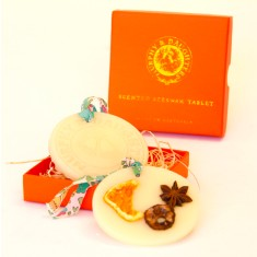 Beeswax tablet in orange blossom